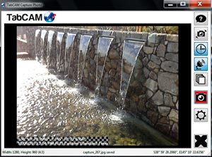 GeoTabCAM Camera App for Windows Screenshot
